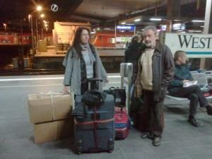 Im Gepäck: Hilfssendungen, medizinisches Material & Geschenke
