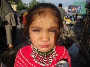 Manisha vor der zweite Operation